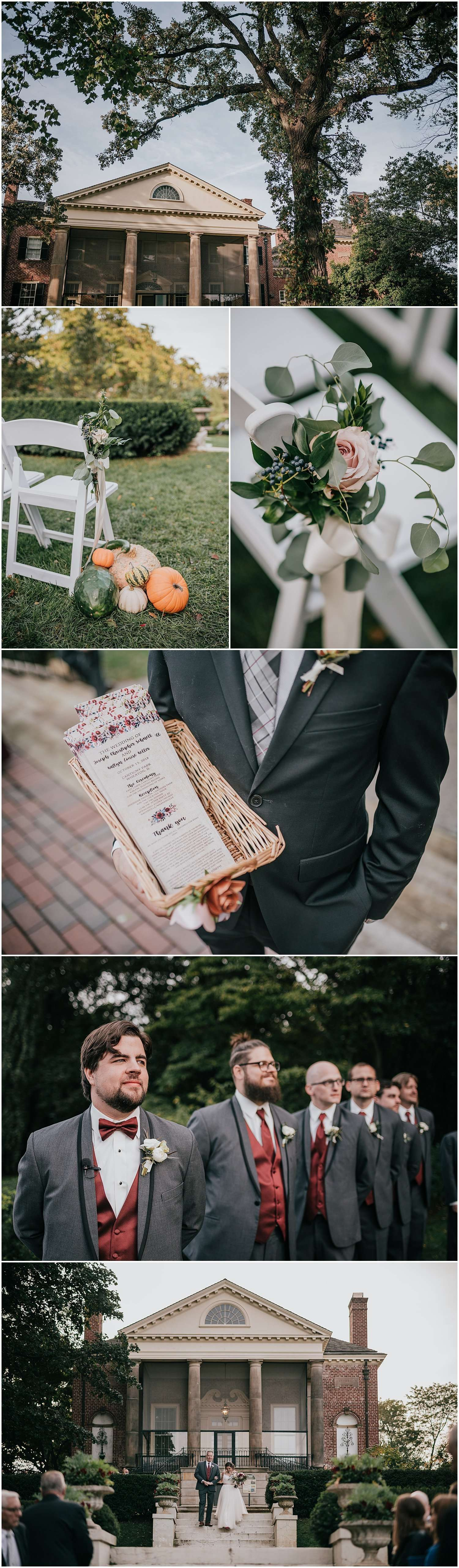fall in cantigny park, cantigny park, wedding, wedding photographer, wheaton, illinois, chicago, best chicago wedding photographer, best chicago photographer, iron and honey photography, photographer, photography, fall, autumn, pumpkin, decor, decorations