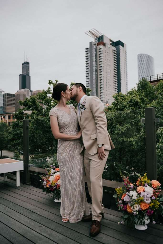chicago intimate wedding elopement photographer little goat diner ace hotel
