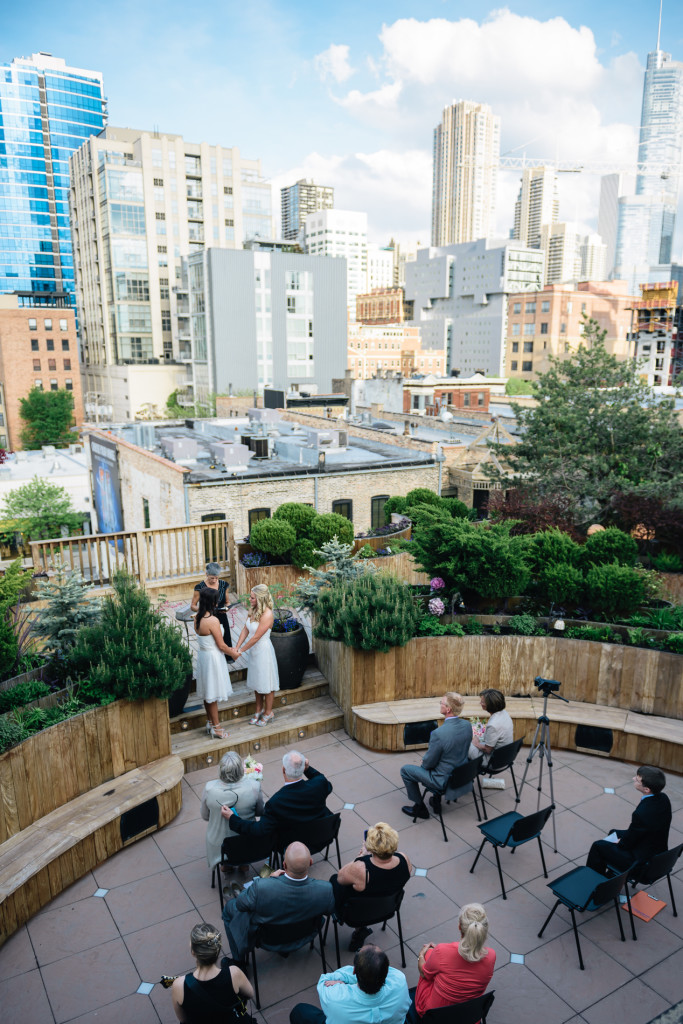 lightology rooftop, chicago, lightology, rooftop, wedding, same sex, wedding photographer, elopement, destination,