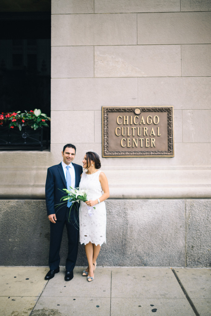 iron and honey photography, elopement, civil ceremony, chicago, willis tower, sears tower, chicago cultural center