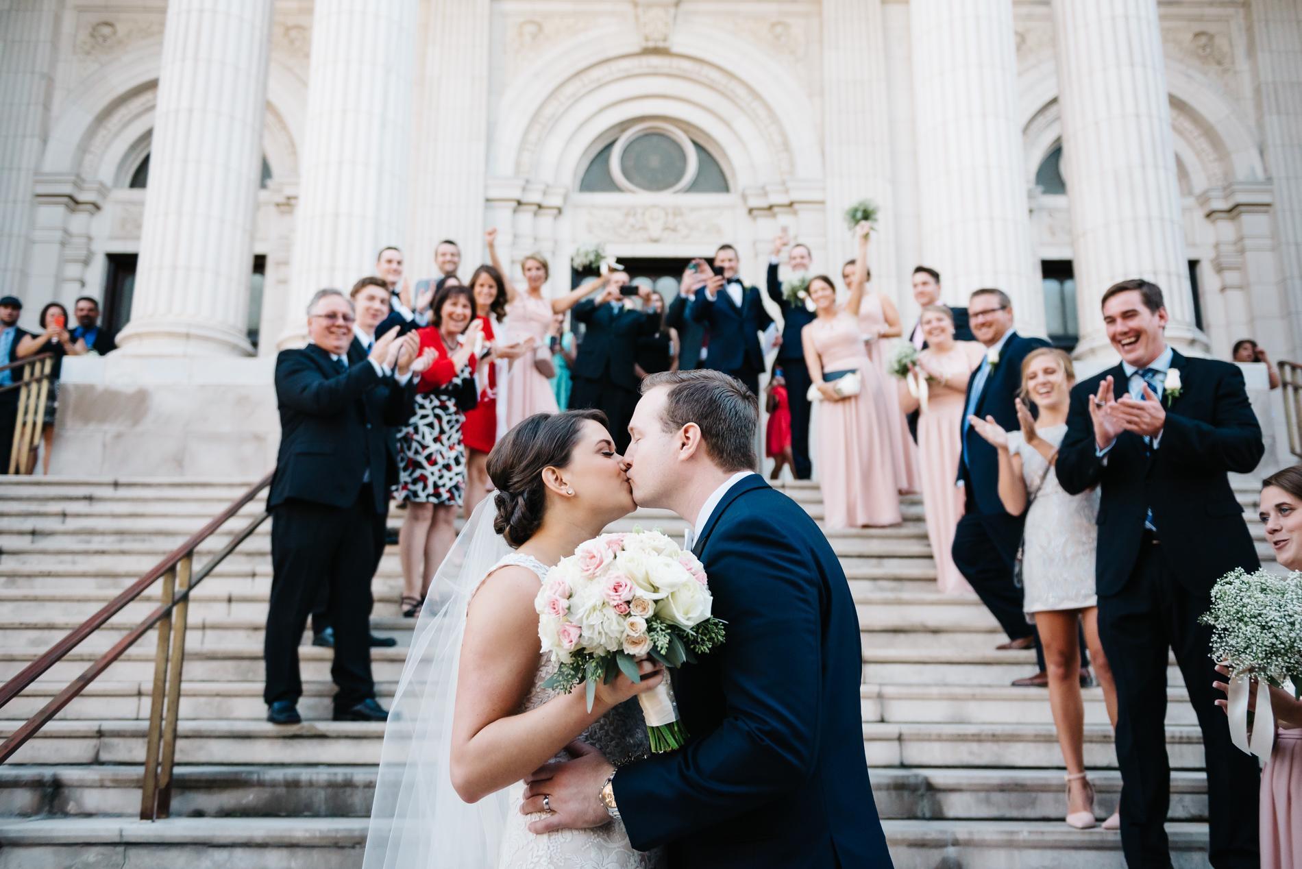 chicago cathedral wedding, murphy auditorium, chicago, wedding, wedding photographer, elopement photographer, engagement photographer, iron and honey
