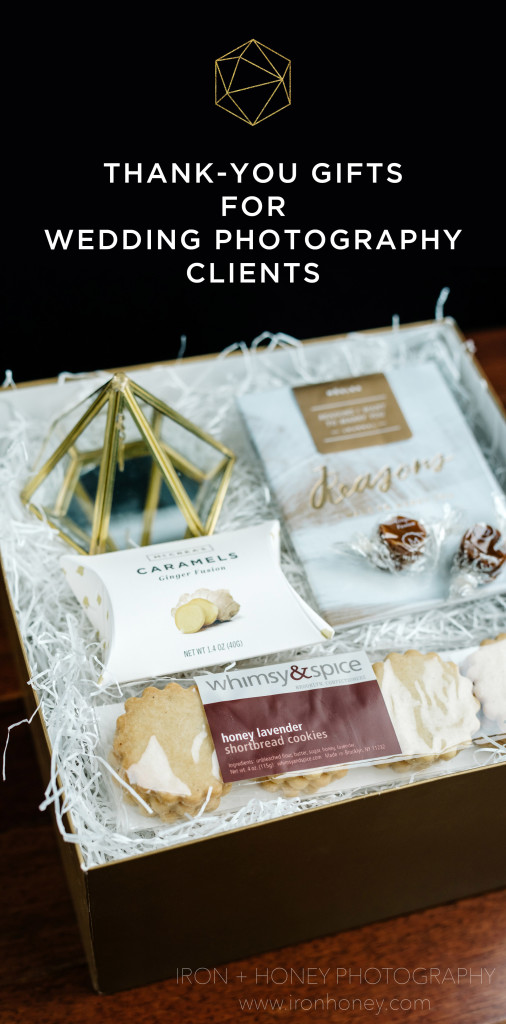 Customized welcome and thank-you gifts for wedding photography clients. bhldn, ring holder, ring display, geometric, sweets, vow book, vow journal, journal, caramels, mcCrea's caramels, moglea, reasons i love you, whimsy and spice, thank you, client, gifts, that's darlin, malissa rathgeber, melissa ferrara, custom gifting, chicago wedding photographer, chicago engagement photographer, lifestyle, photographer, appreciation, welcome gifts