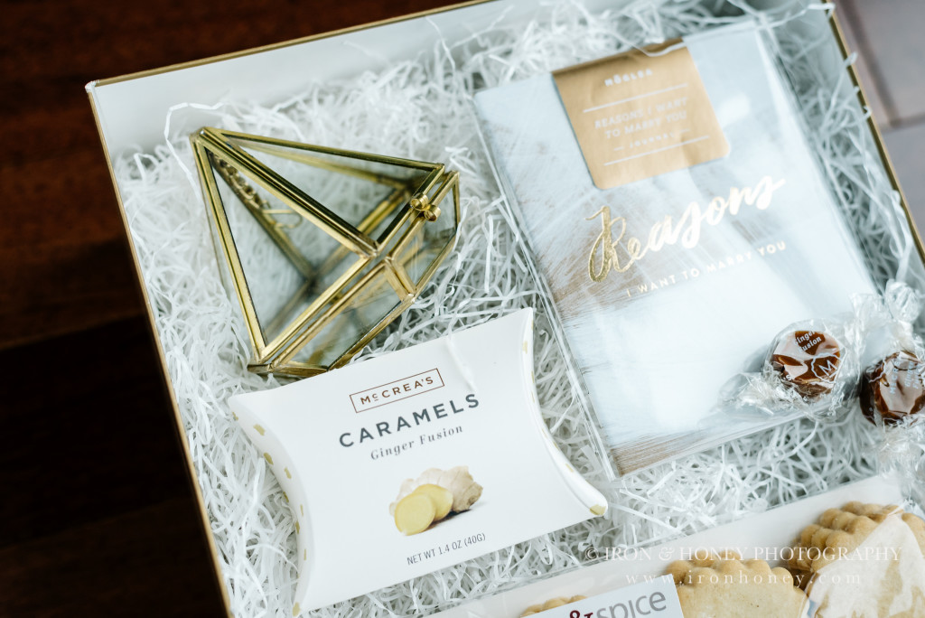 bhldn, ring holder, ring display, geometric, sweets, vow book, vow journal, journal, caramels, mcCrea's caramels, moglea, reasons i love you, whimsy and spice, thank you, client, gifts, that's darlin, malissa rathgeber, melissa ferrara, custom gifting, chicago wedding photographer, chicago engagement photographer, lifestyle, photographer, appreciation, welcome gifts