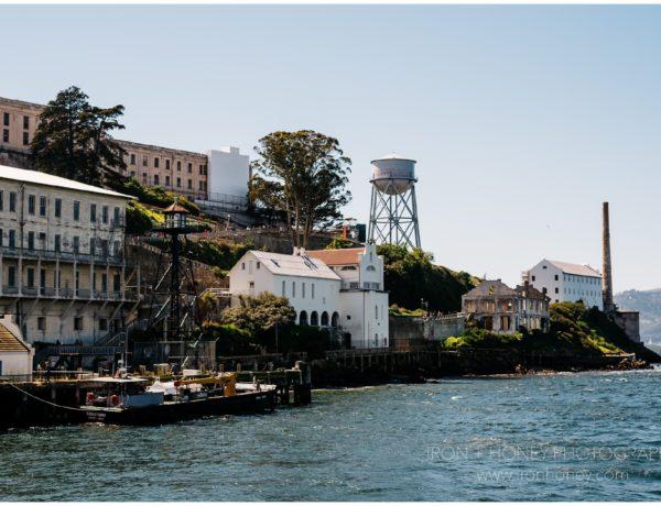 alcatraz, alcatraz island, the rock, san francisco, california, al capone, scarface, prison, tour, golden gate national recreation area, iron and honey, travel photography, tourist,