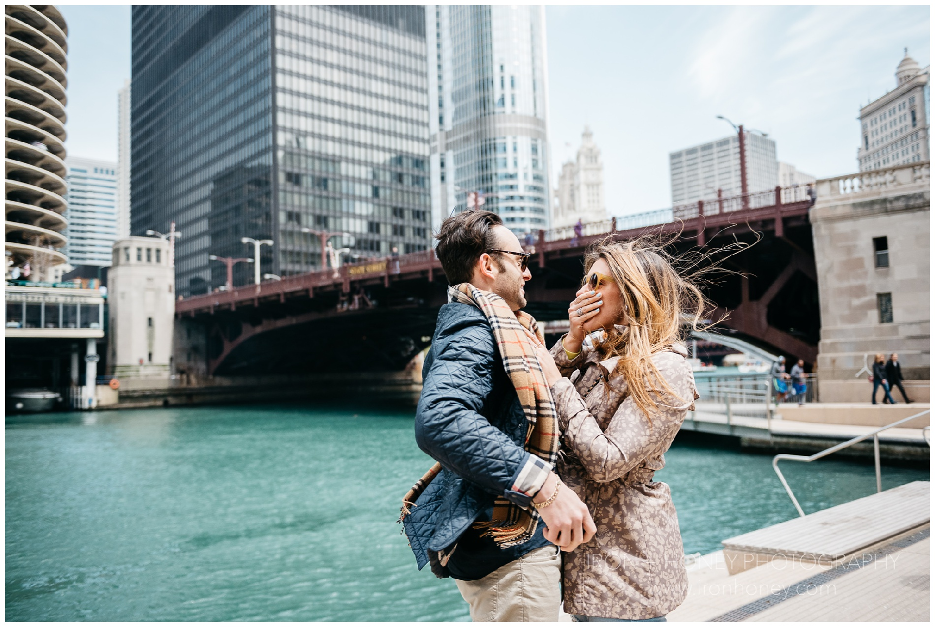 chicago riverwalk proposal, proposal, city winery, chicago, riverwalk, river, lake michigan, boat, goodman theater, engagement, surprise, chicago engagement photographer, chicago blogger, proposal photographer, photographer, chicago wedding photographer, chicago elopement photographer