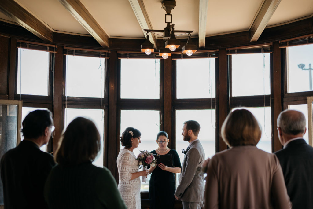 berger park cultural center, chicago, elopement, chicago elopement photographer, iron and honey photography, chicago wedding photographer, lake michigan