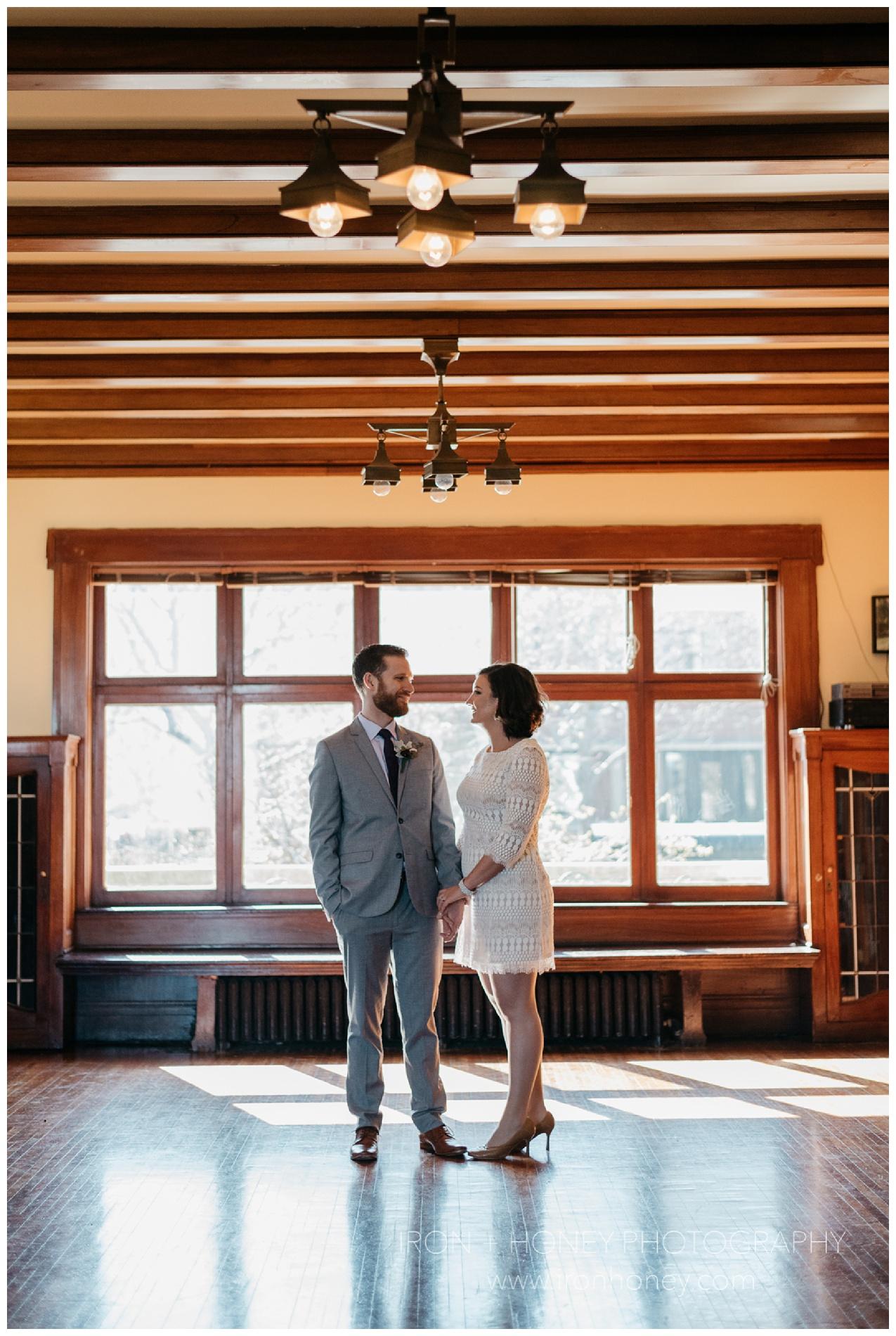 berger park cultural center, chicago, elopement, chicago elopement photographer, iron and honey photography, chicago wedding photographer, lake michigan