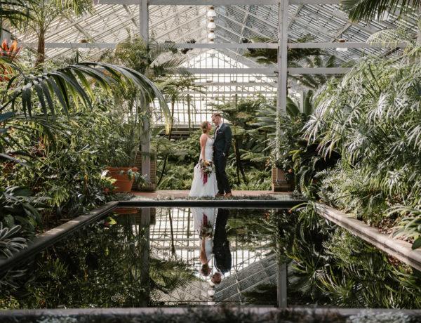 loft on lake, garfield park conservatory, wedding, elopement, intimate wedding, small wedding, iron and honey, wedding photographer, wedding photography, chicago, illinois, engagement, photographer
