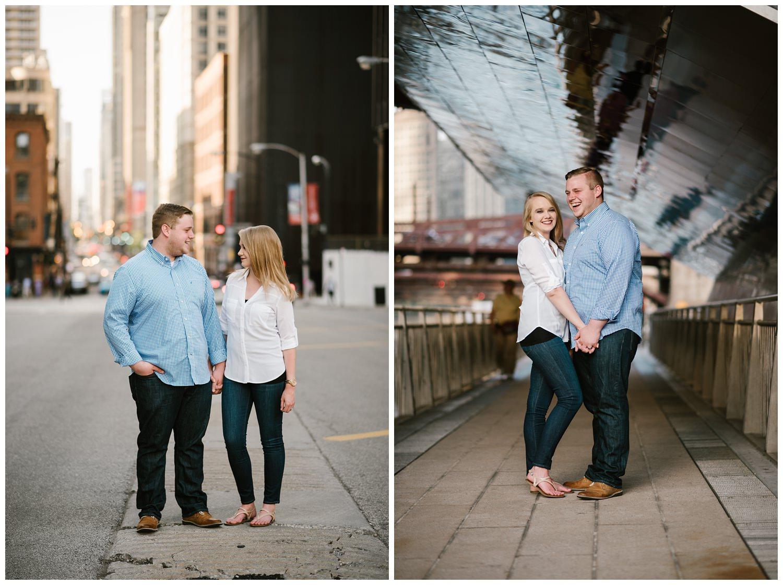 chicago, illinois, anniversary, photographer, photography, river walk, riverwalk, bridge, lasalle street, chicago river, portrait, just because