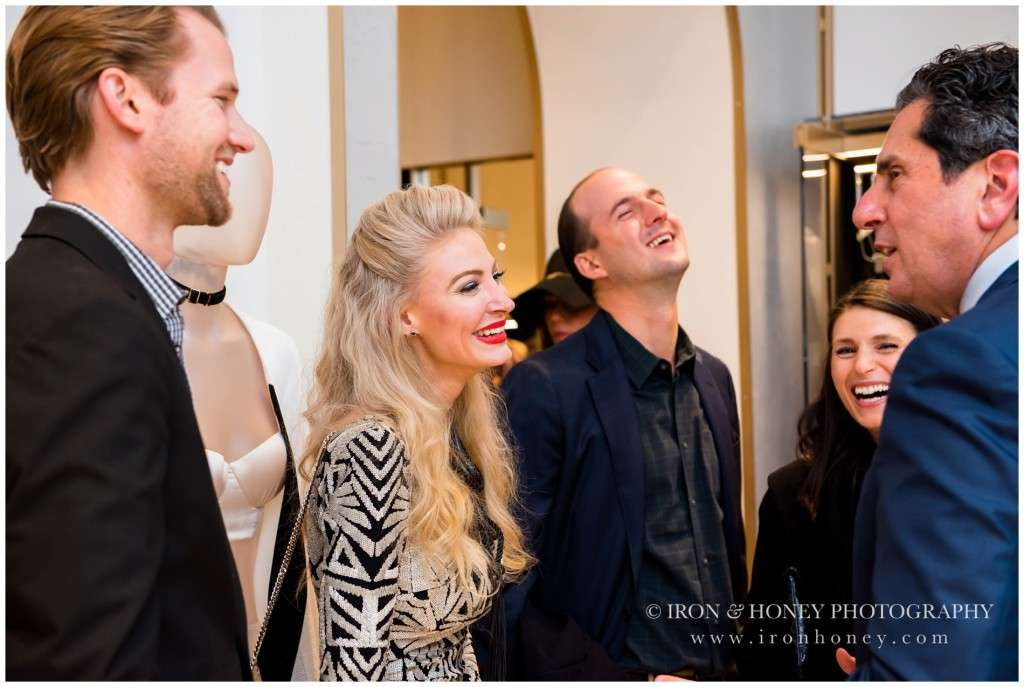 chicago, event, la perla, vogue, melissa ferrara, grand opening, photographer,