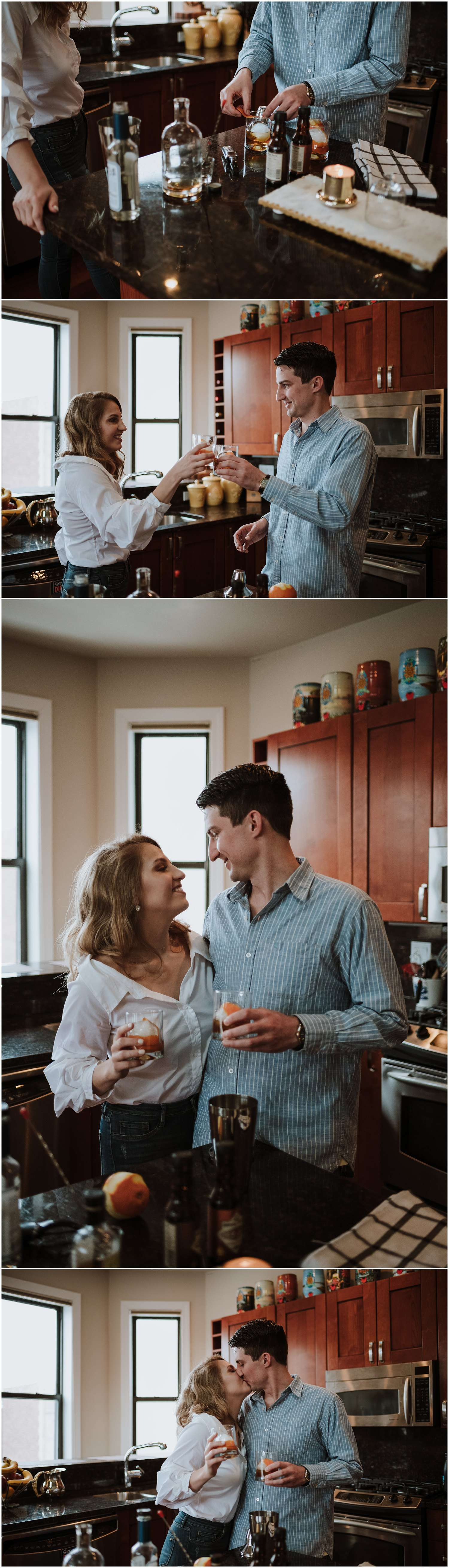 Chicago, photographer, photography, couples session, couple, engagement, session, Illinois, engagement session, lifestyle, in-home, indoor, at home, apartment, house, home, documentary, photojournalistic, photojournalism, natural, candid, Wisconsin, Utah, Michigan, Colorado, Chicagoland, portrait, unposed, intimate, intimate wedding, small wedding, elopement, elope, elopement photographer, chicago elopement, Illinois elopement, anniversary, in-home couples lifestyle session